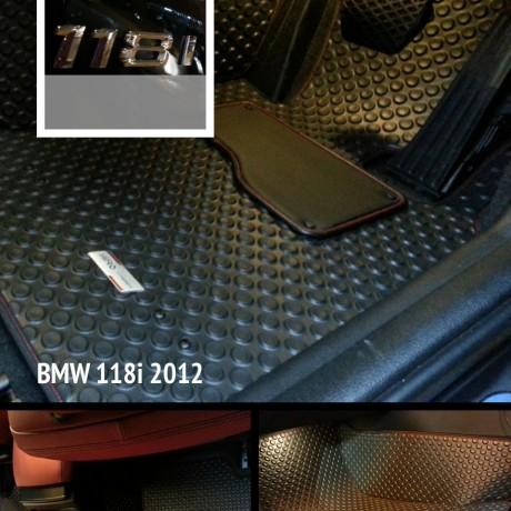 全Fit位馬來西亞橡膠地氈 - BMW 118i
