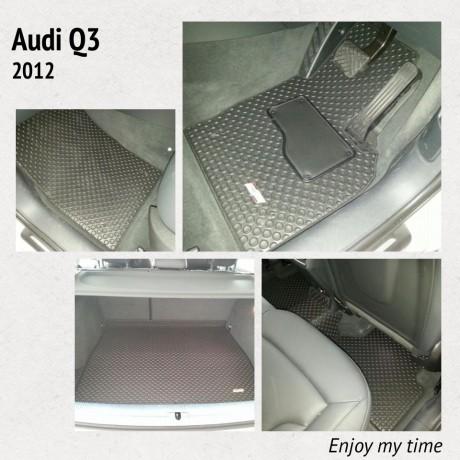 全Fit位馬來西亞橡膠地氈 - Audi Q3 2012
